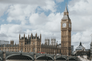 The Big Ben, one of the most recognizable London landmarks when traveling around Europe.   Luxury Homes by Brittany Corporation