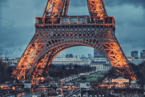 Traveling around Europe wont be complete without visiting The Eiffel Tower, an iconic spot in Paris, France.