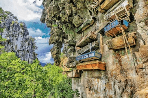 The Hanging Coffins in Sagada | Luxury Homes by Brittany Corporation