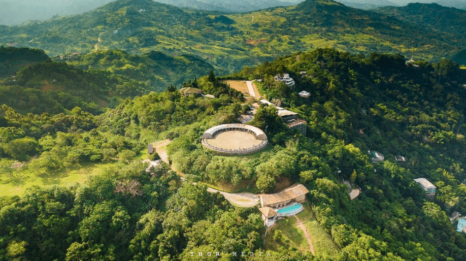 Tops Lookout in Cebu with a viewing deck for nature sceneries - Brittany Corporation