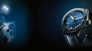The blancpain Fifty Fathoms luxury watch | luxury homes by Brittany Corporation