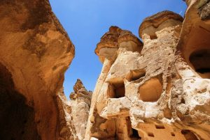 carved stones in the goreme national park luxury homes of dead people | Luxury homes by Brittany Corporation