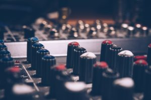 Sound board in a luxury venue | Luxury homes by brittany corporation