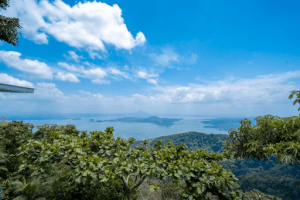 beautiful view of taal lake | luxury homes buy brittany corporation