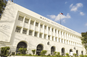 white facade of mapua memorial hall in manila | Luxury homes by brittany corporation