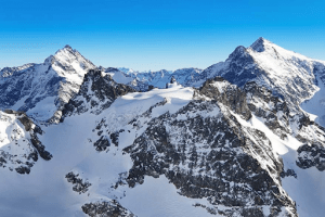 Mountain tops of mount titlis | luxury homes by brittany corporation
