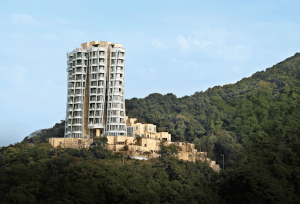 Opus hong kong luxury condominium surrounded by greenery on a mountain | luxury homes by brittany corporation
