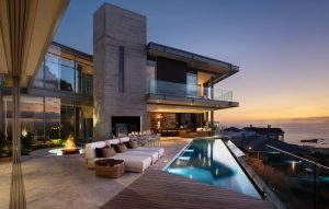 The Clifton 2A Luxury home in south africa swimming pool and fire pit luxury mansion   Luxury homes by brittany corporation