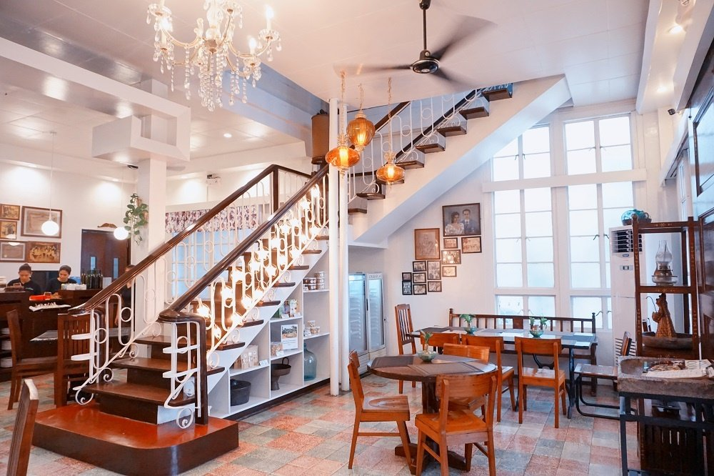 aurora restaurant in laguna old house turned restaurant with wooden everything | luxury homes by brittany corporation